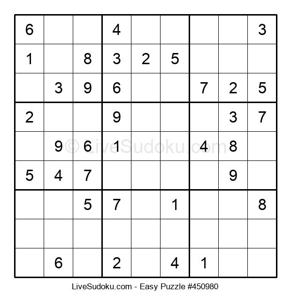Beginners Puzzle #450980