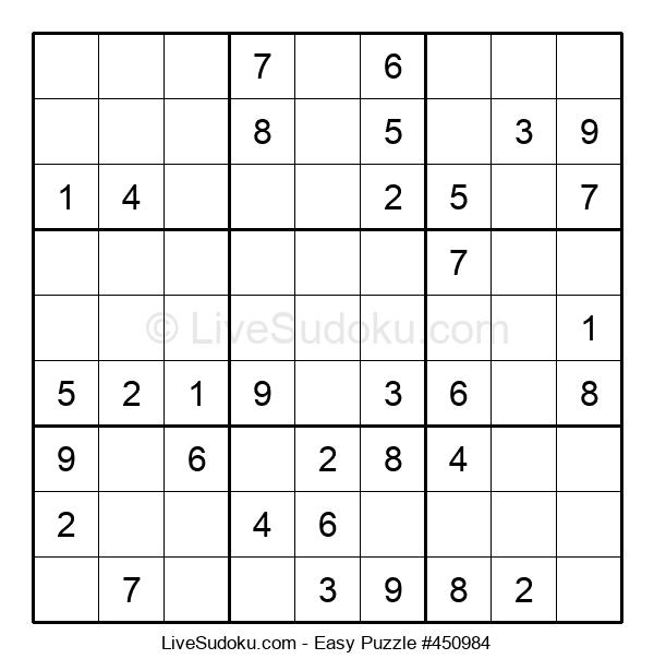 Beginners Puzzle #450984