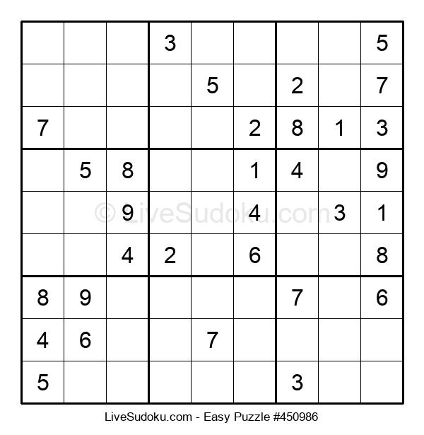 Beginners Puzzle #450986