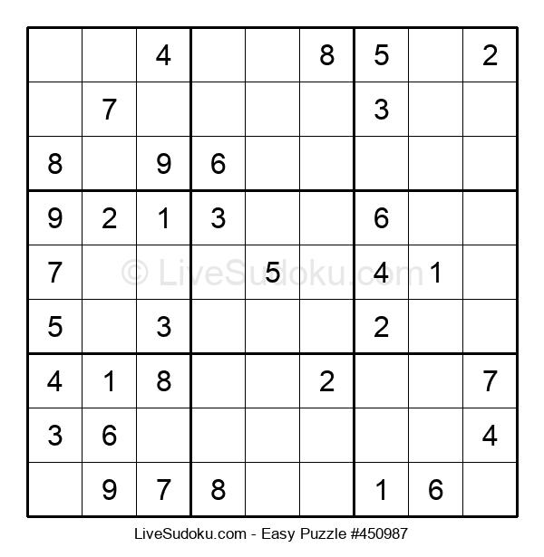 Beginners Puzzle #450987