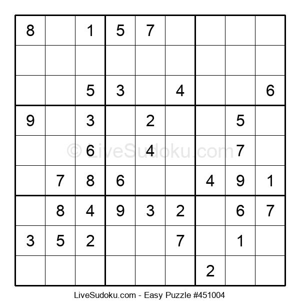 Beginners Puzzle #451004