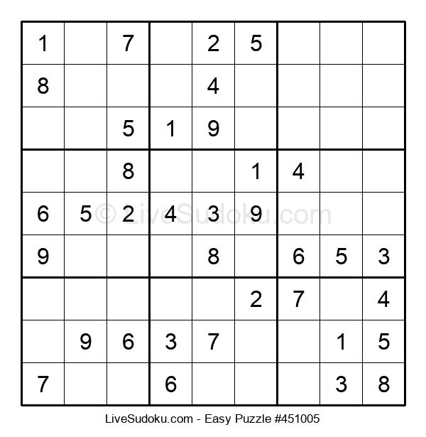 Beginners Puzzle #451005