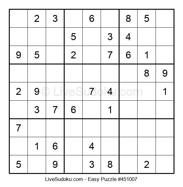 Beginners Puzzle #451007