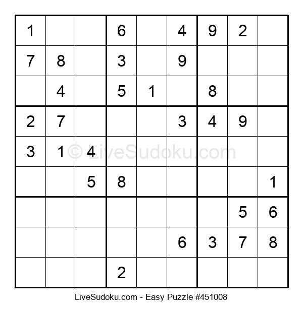 Beginners Puzzle #451008