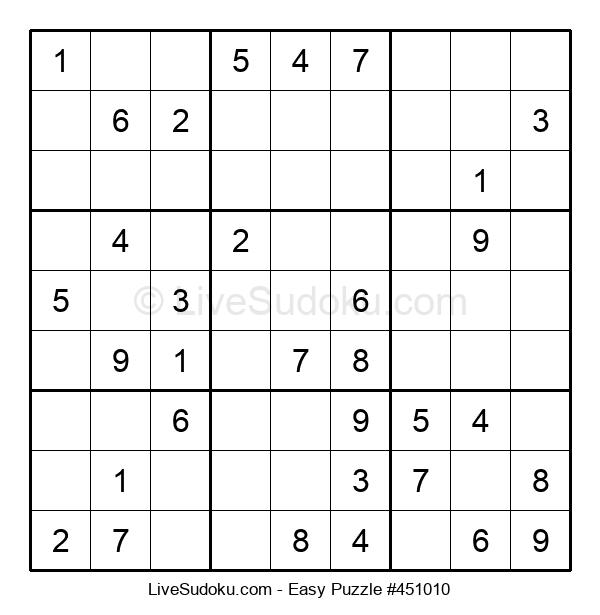 Beginners Puzzle #451010