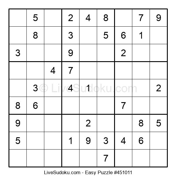 Beginners Puzzle #451011