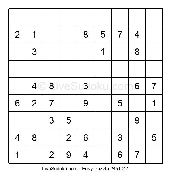 Beginners Puzzle #451047