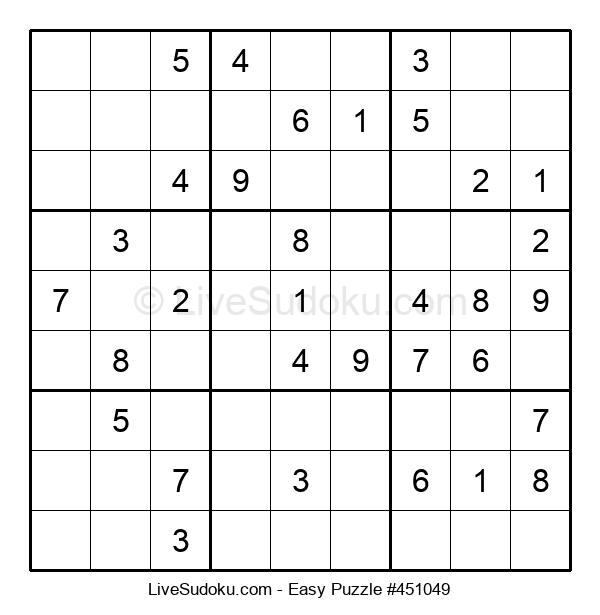 Beginners Puzzle #451049