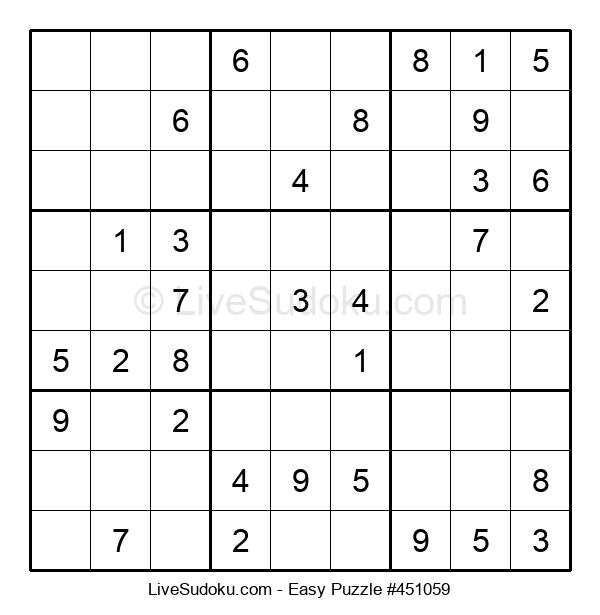 Beginners Puzzle #451059