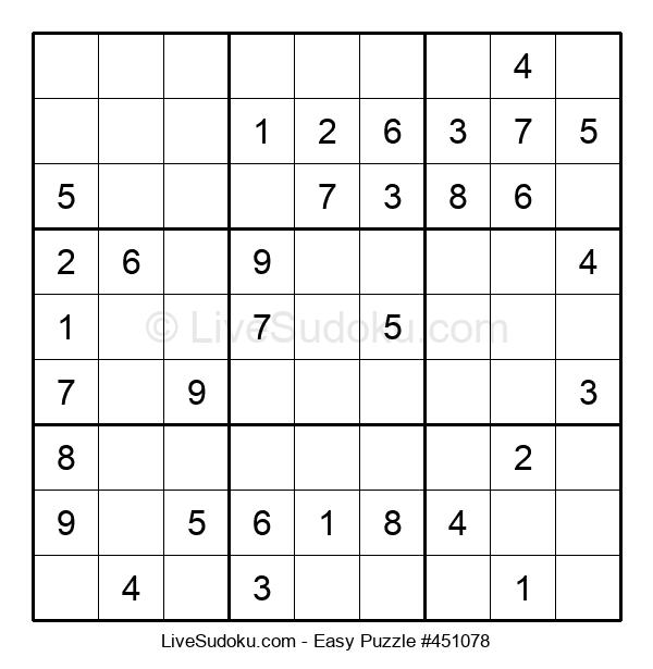 Beginners Puzzle #451078