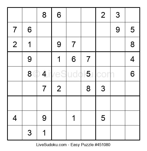 Beginners Puzzle #451080