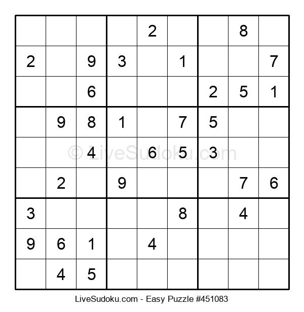 Beginners Puzzle #451083