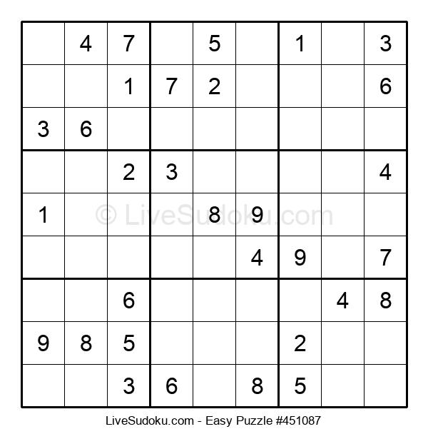 Beginners Puzzle #451087