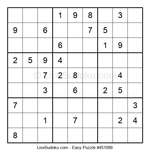 Beginners Puzzle #451099