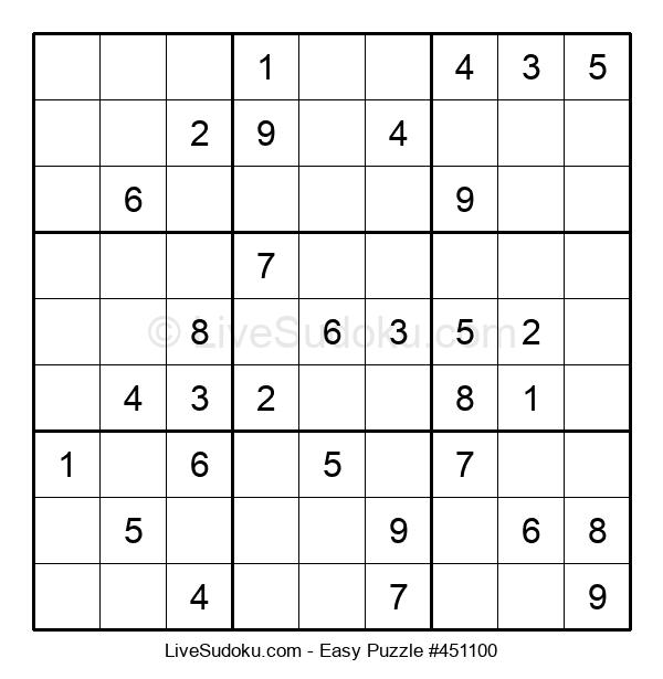 Beginners Puzzle #451100