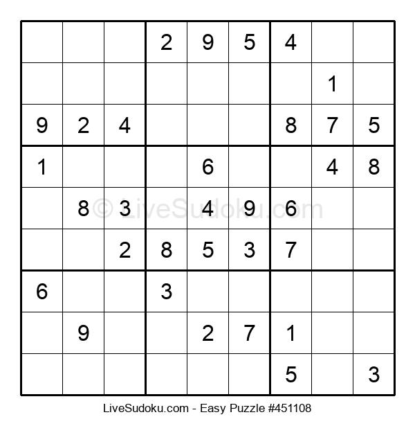 Beginners Puzzle #451108