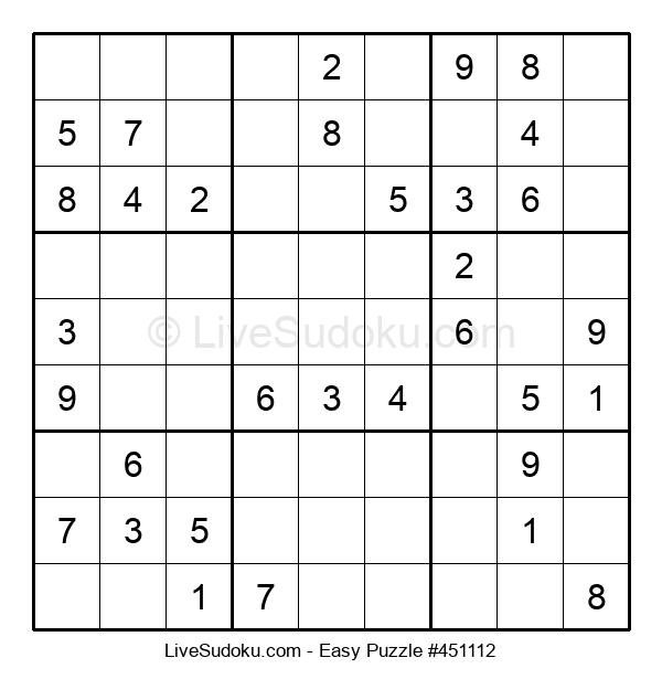 Beginners Puzzle #451112