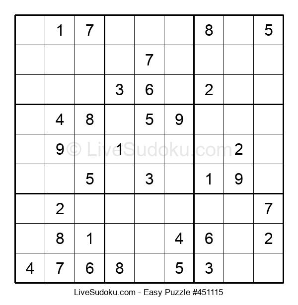 Beginners Puzzle #451115