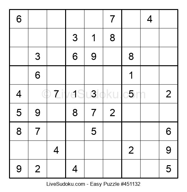 Beginners Puzzle #451132