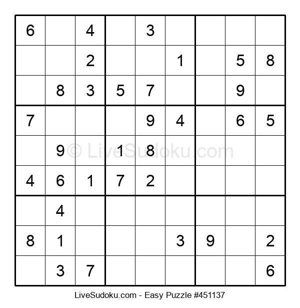 Beginners Puzzle #451137