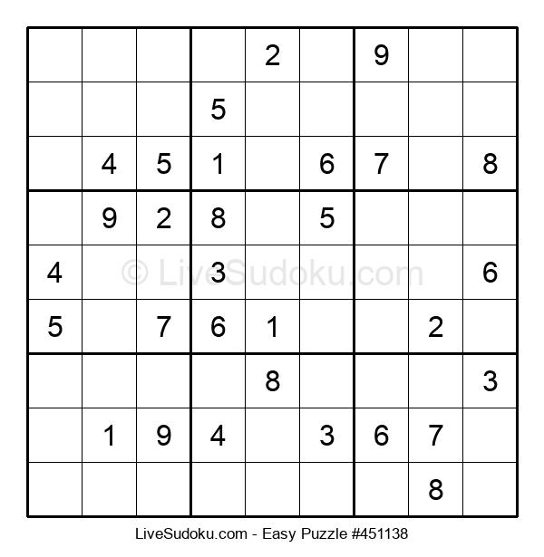 Beginners Puzzle #451138