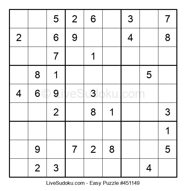 Beginners Puzzle #451149