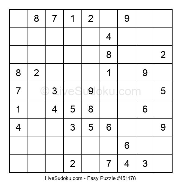 Beginners Puzzle #451178