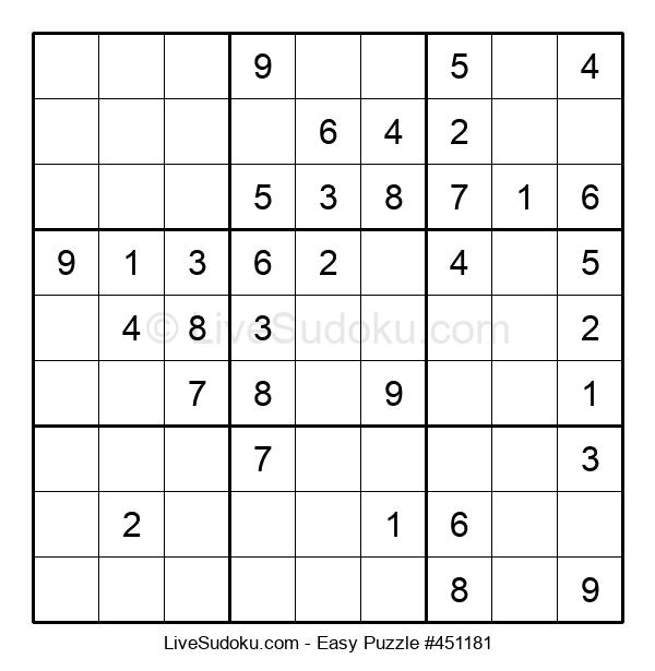 Beginners Puzzle #451181