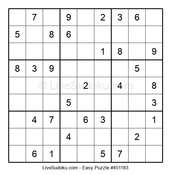 Beginners Puzzle #451183