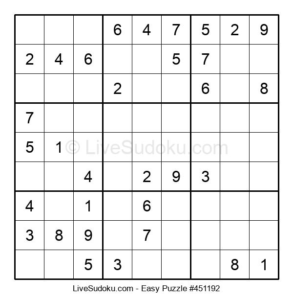 Beginners Puzzle #451192