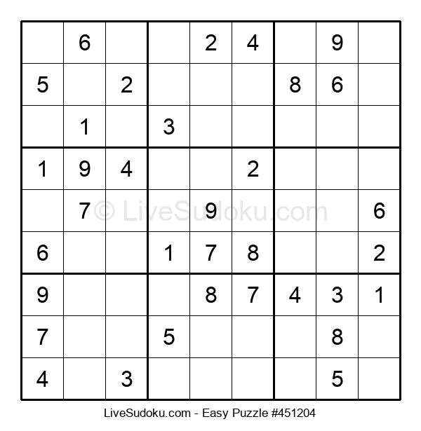 Beginners Puzzle #451204