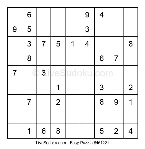 Beginners Puzzle #451221
