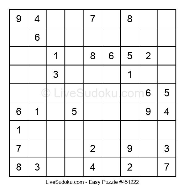 Beginners Puzzle #451222