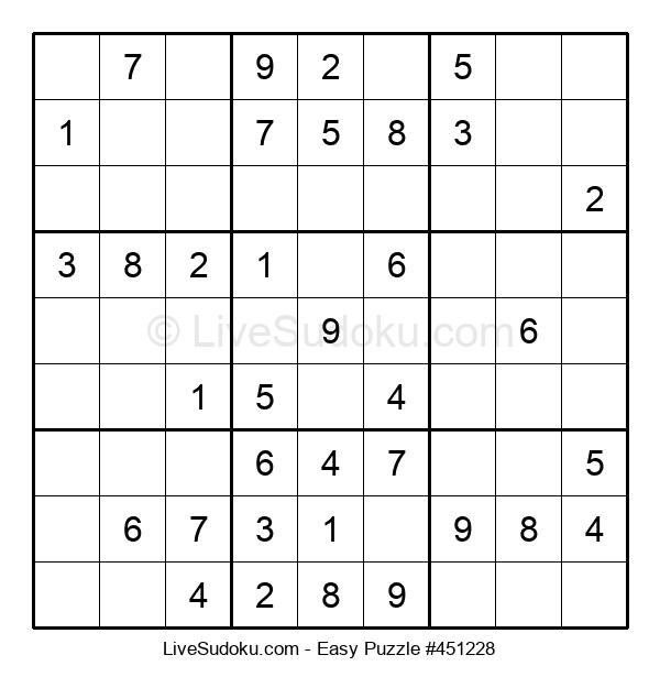 Beginners Puzzle #451228