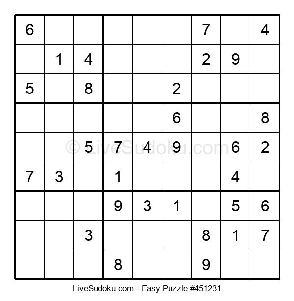 Beginners Puzzle #451231