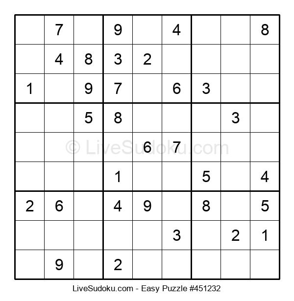 Beginners Puzzle #451232