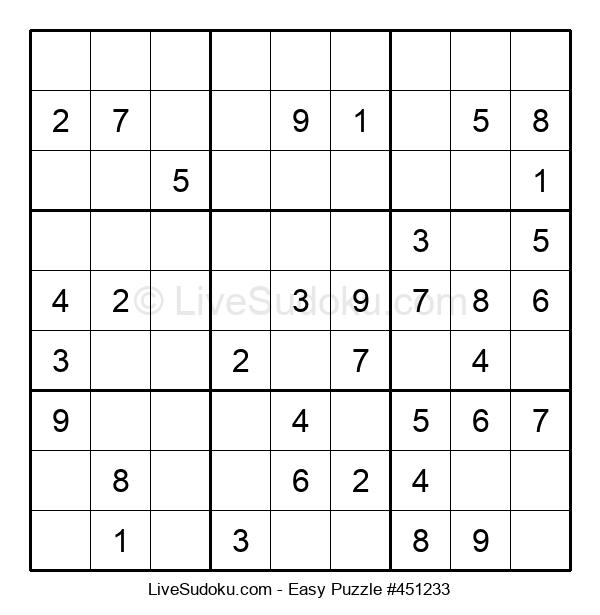 Beginners Puzzle #451233