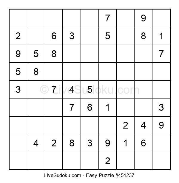 Beginners Puzzle #451237