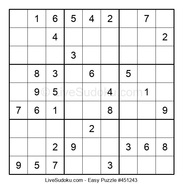 Beginners Puzzle #451243