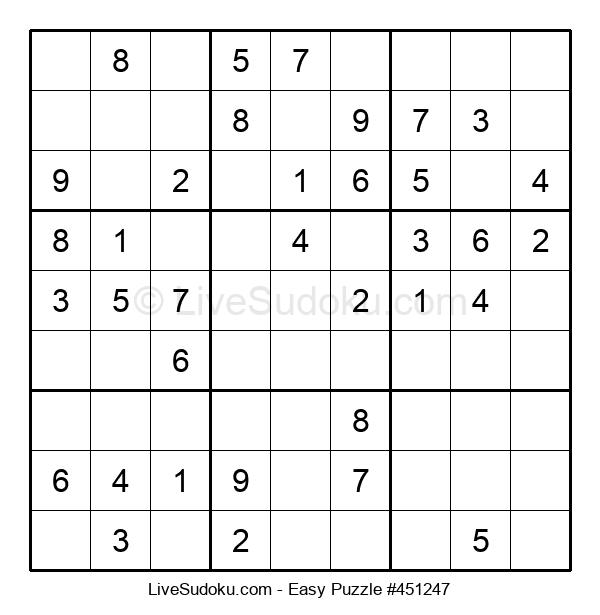 Beginners Puzzle #451247