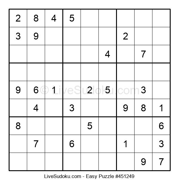 Beginners Puzzle #451249