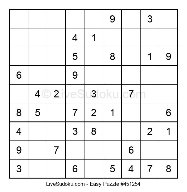 Beginners Puzzle #451254