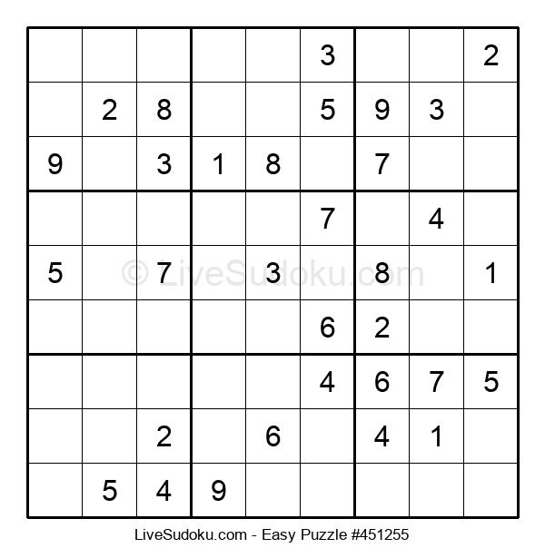 Beginners Puzzle #451255