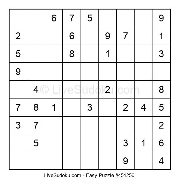 Beginners Puzzle #451256