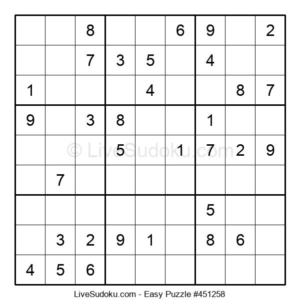 Beginners Puzzle #451258