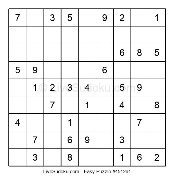 Beginners Puzzle #451261
