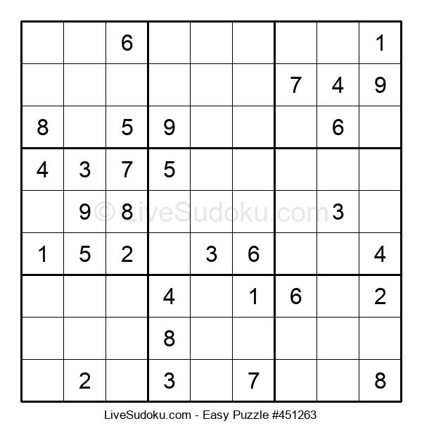 Beginners Puzzle #451263