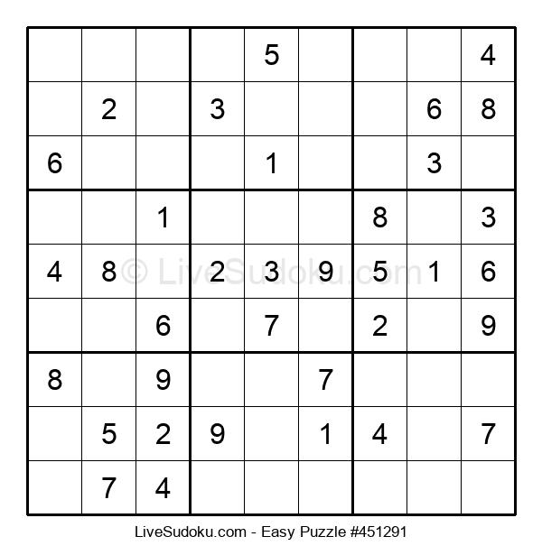 Beginners Puzzle #451291