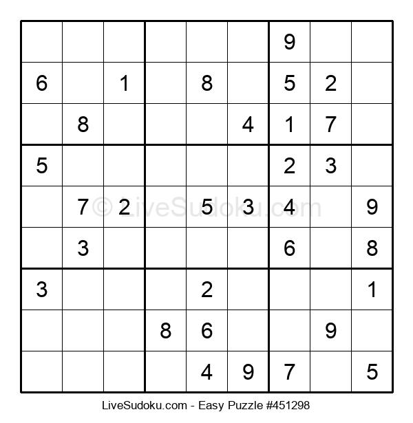 Beginners Puzzle #451298