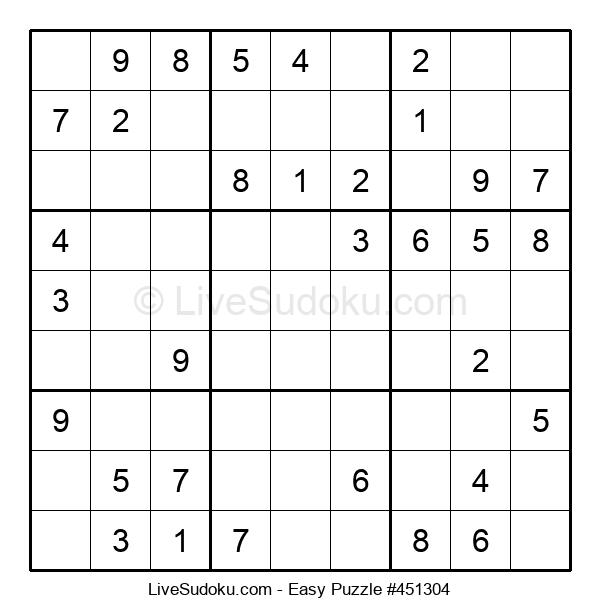 Beginners Puzzle #451304